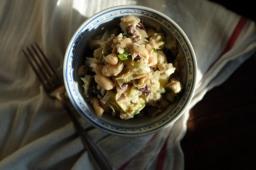 Italian Tuna, Artichoke, & Cannellini Bean Salad