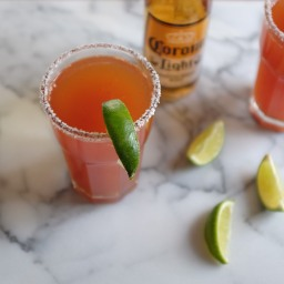 Spicy Sriracha Michelada