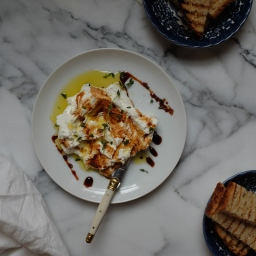 Ricotta with Saba, Olive Oil, & Thyme