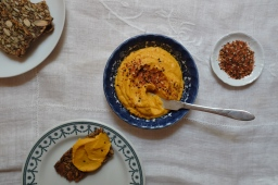 Miso Carrot Cashew Spread