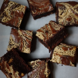 Tahini & Halva Brownies