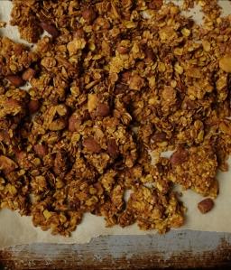 Coconut-Turmeric Granola