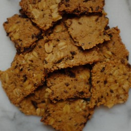 Smoky Carrot Cumin Crackers