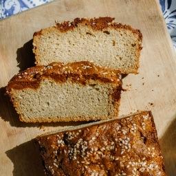 Sesame Halvah Tea Cake (gluten free)